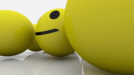 buzki : Smileys in yellow and blue color