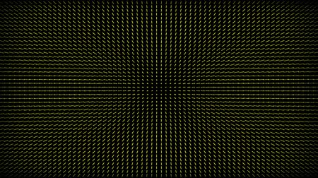 mértan : Abstract yellow grid on a black