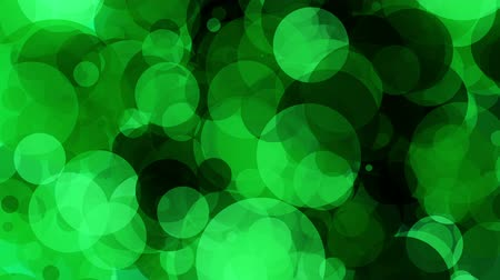 hipnoza : Abstract bubbles in green and black colors