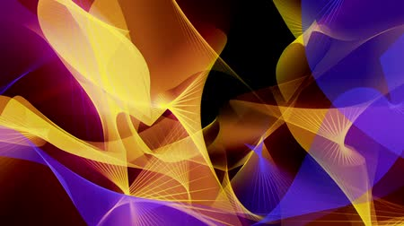 hipnoza : Abstract background in blue and yellow on black