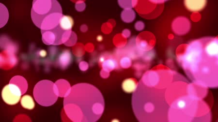 bright bubble : Abstract red and pink bokeh