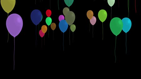 balonlar : Balloons floating up
