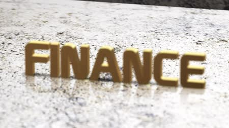 finanças : Finance text on a rough surface