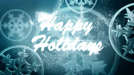 happy holidays : Happy Holidays message