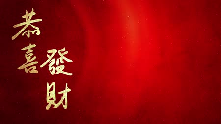 ano novo chinês : CNY greeting Wish you good wealth and prosperity slide