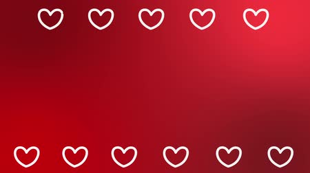 heart shaped : Heart shaped motion graphic