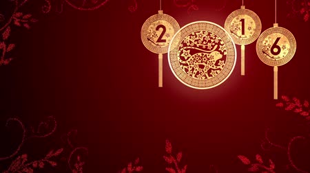 2016 Chinese New Year looping background