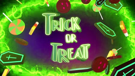 horror : Trick or Treat Opening Stock Footage