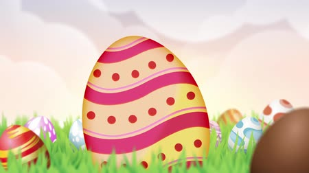 easter : Happy Easter Opening with 2D Animation