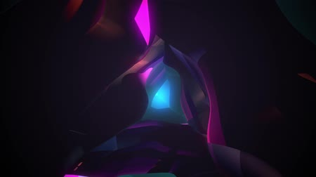 emanações : abstract psychedelic tunnel animation travelling inwards