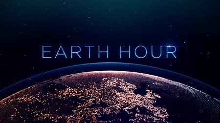 hora : Earth hour concept