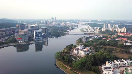 birdseye : Aerial view of Putrajaya