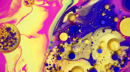 ミックス : Liquid colors in motion