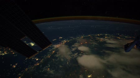 astronauta : Myanmar to Malaysia time lapse from International Space Station at night. Created from Public Domain images courtesy of NASA Johnson Space Center : http:eol.jsc.nasa.gov