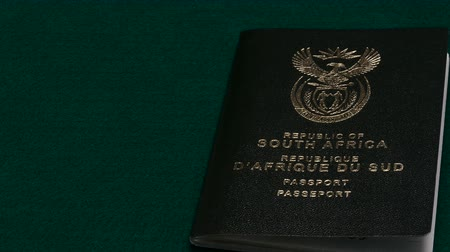 zvyk : South African passports on table