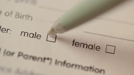 sexo : blank Checkbox with gender selection Vídeos