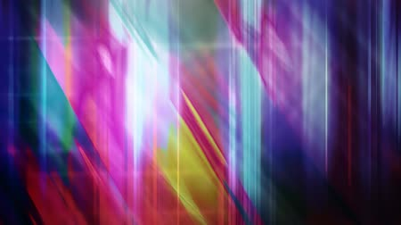 maravilhoso : Purple and Blue Diagonal Light Beams Contrasting with Vertical Pillars - 4K Seamless Loop Motion Background Animation