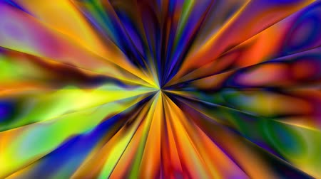 umysł : Abstract Wavy Trippy Psychedelic Tunnel of Creation - 4K Seamless Loop Motion Background Animation