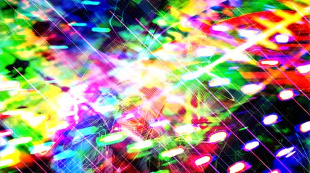 fascinante : Bright Glowing Abstract Rainbow Texture - 4K Seamless Loop Motion Background Animation
