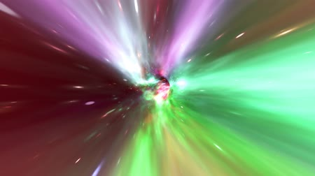 universe inside : Zoom Out of Wormhole to Travel Back in Time at Warp Speed in Outer Space - 4K Seamless Loop Motion Background Animation
