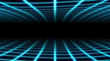 boate : Retro Wavy Grid 80s Synthwave Neon Net Waves in Aesthetic Vaporwave - 4K Seamless Loop Motion Background Animation