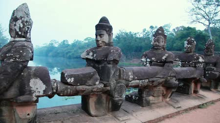 leper : Angkor Wat , Cambodia, The Worlds Largest Religious Building, Khmer architecture style