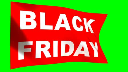 pátek : Black Friday Sale - looped animation on green background. Online shopping banner - seamless loop..