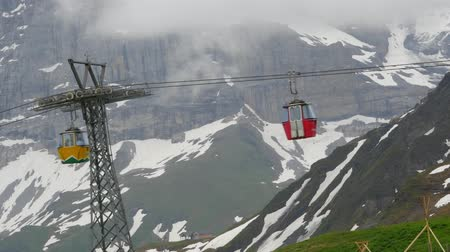 Ski lift in Wengen, Switzerland
