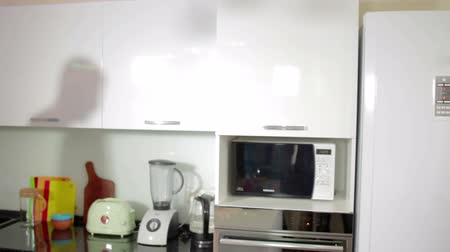 famished : Man open refrigerator Music kitchen