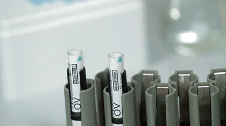 phd : Doctor prepares blood test tube