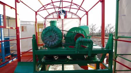 energetyka : Mud handling equipment Drilling circulation system