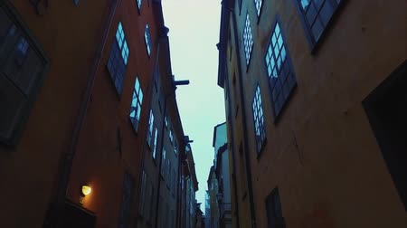 stockholm : old town of Stockholm city in Sweden Is in the middle of the city