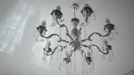 chandelier in a restaurant
