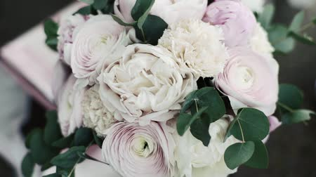 beautiful wedding boquet