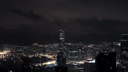 HONG KONG, CHINA timelaps