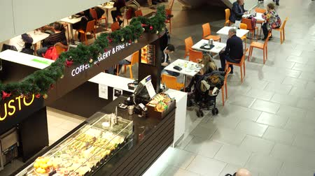 cancellation : Passengers spend time sitting in airport cafe,others hurry to boarding