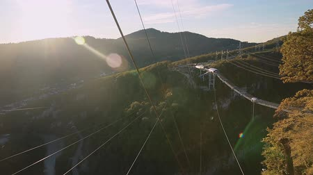 ascend : Unique SKYPARK AJ Hackett Sochi, Ahshtyrskaya gorge in the Mzymta river valley