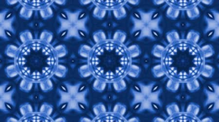 contornos : Light Blue Poly Art Kaleidoscope in Geometric and seamless  Hypnotic Fractal animation background Vídeos