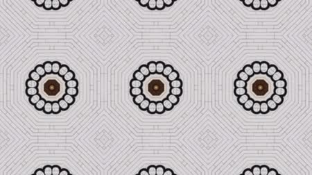 contornos : Poly Art Kaleidoscope in Grey Geometric and seamless  Hypnotic Fractal animation background