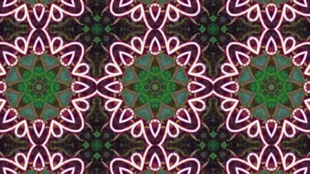 contornos : Poly Art Kaleidoscope Geometric Hypnotic Fractal animation background