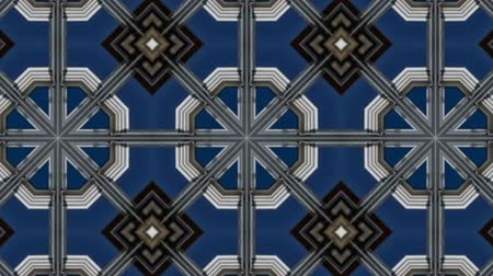 contorno : Poly Art Kaleidoscope Geometric Hypnotic Fractal animation background