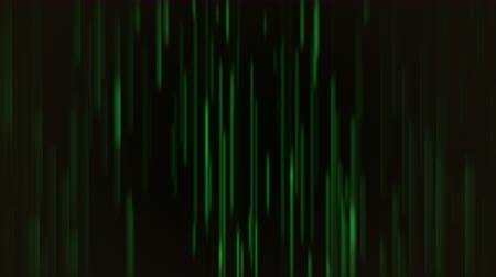 psicodélico : Abstract motion green lines, looping animation background