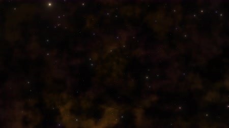 astro : Motion particles and stars in galaxy, abstract background
