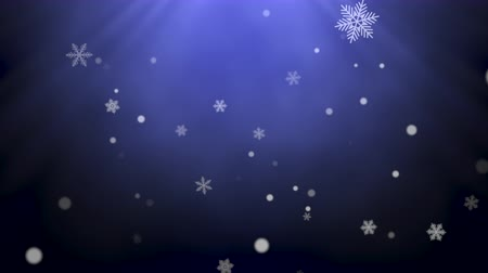 glorious : White snowflakes, stars and abstract bokeh particles falling. Happy New Year and Merry Christmas shiny background. Luxury and elegant dynamic style template for winter holiday