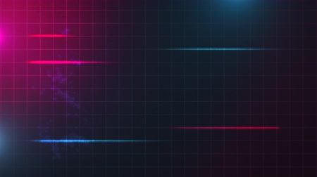 synth : Motion retro red and blue lines, abstract background. Elegant and luxury dynamic 80s, 90s style template