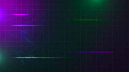 synth : Motion retro green and purple lines, abstract background. Elegant and luxury dynamic 80s, 90s style template