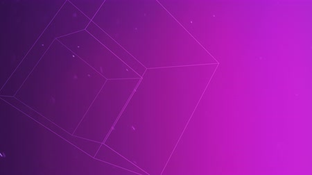 hexagon glow : Motion geometric shape in space, abstract background. Elegant and luxury dynamic geometric style template for corporate or business concept