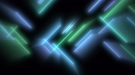 synth : Motion colorful neon lines abstract background. Elegant and luxury dynamic club style template