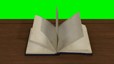 gramotnost : Inversed Asian Book Flipping the Pages Animated