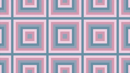 növelni : Squares appear one from the other and expand. Motion design.  Looped abstraction. Stock mozgókép